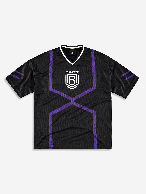 FC BANLIEUE MESH T-SHIRT BLACK