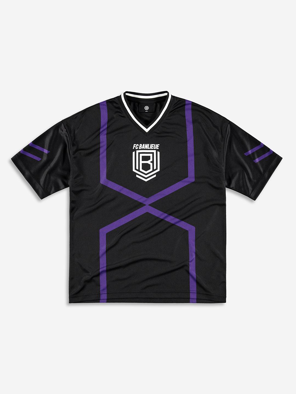 FC BANLIEUE MESH T-SHIRT NOIR