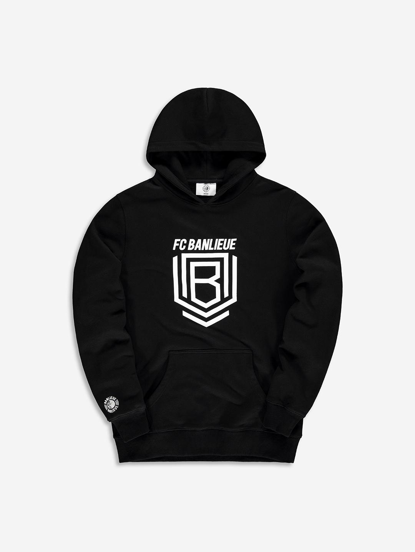 FC BANLIEUE HOODIE BLACK