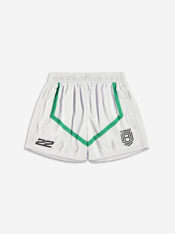 FC BANLIEUE MESH SHORTS CREAM WHITE