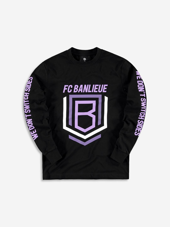 FC BANLIEUE LONGSLEEVE BLACK