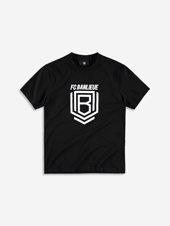 FC BANLIEUE T-SHIRT BLACK