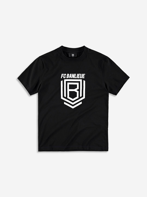 FC BANLIEUE T-SHIRT NOIR
