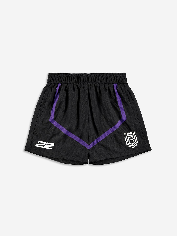 FC BANLIEUE MESH SHORTS BLACK