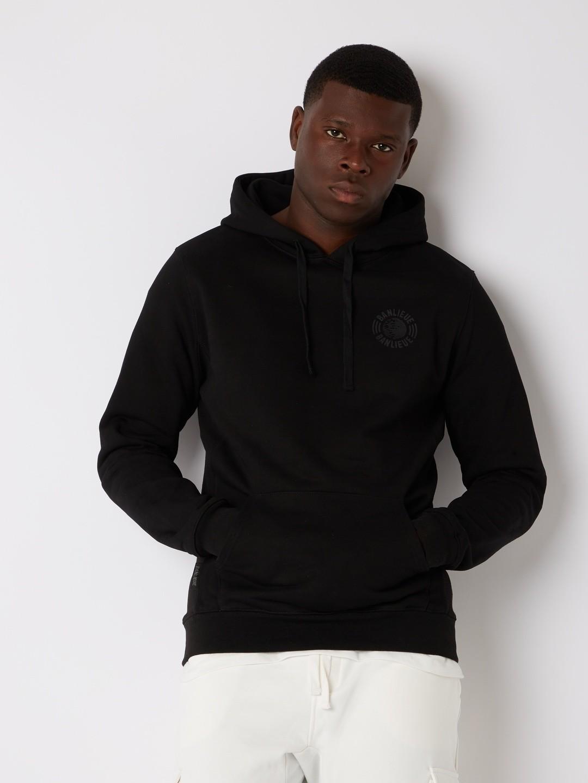 TONAL HOODIE BLACK