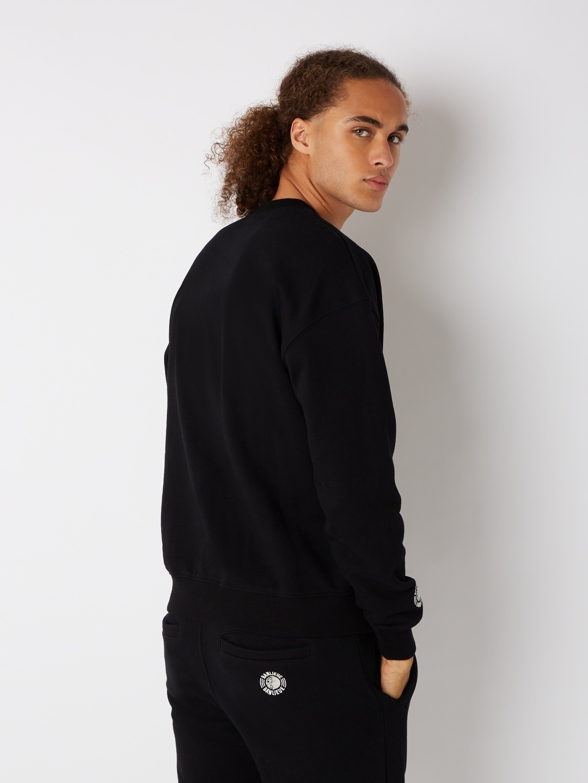 CREST SWEATER BLACK