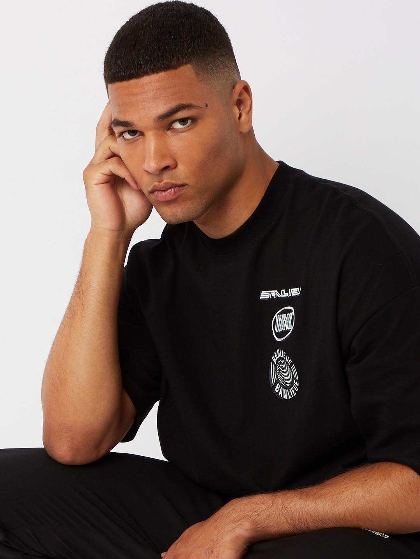 CHROME T-SHIRT BLACK