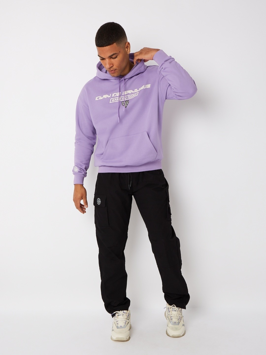 GARE DU NORD HOODIE LILAC