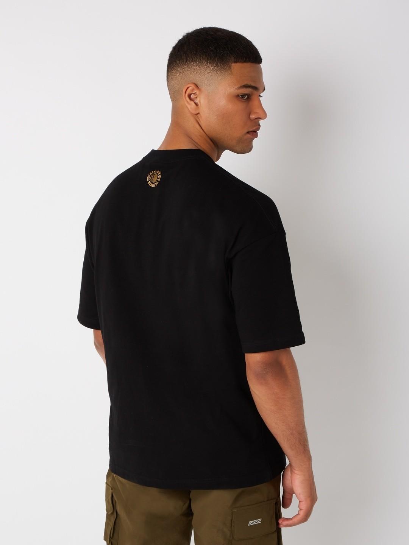 CREST T-SHIRT BLACK