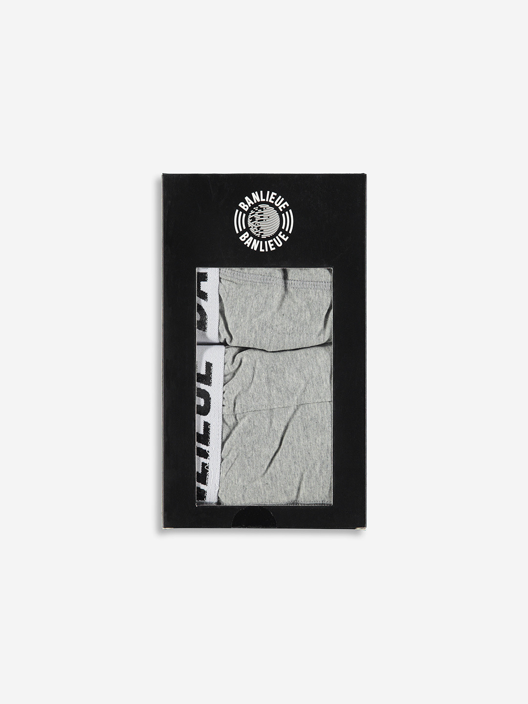 2-PACK BOXERS HEATHER GREY