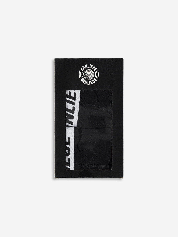 2-PACK BOXERS BLACK