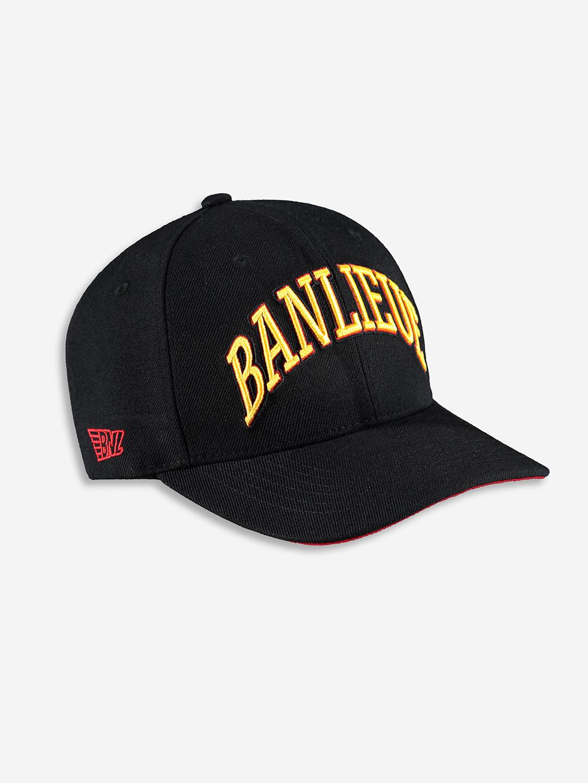 CHAMPION CAP NOIR/JAUNE