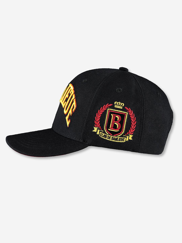 CHAMPION CAP BLACK/YELLOW