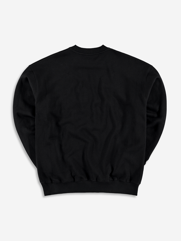 CREST SWEATER BLACK/YELLOW