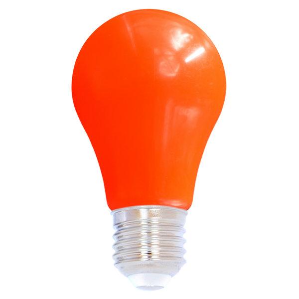 2 en 5 watt, rood, rode grote kap Ø60