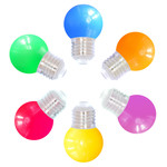 6 kleuren gemixte lampen