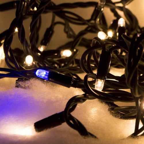 Kerstverlichting | 10 meter met 100 lampjes – Warm wit en fonkel
