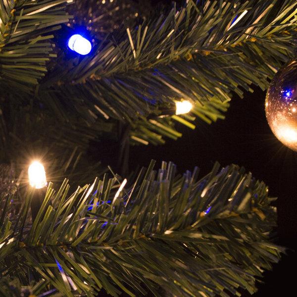 Kerstverlichting 10 Meter Met 100 Lampjes Warm Wit En Fonkel