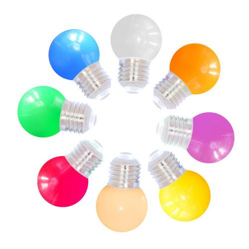 8 kleuren gemixte lampen