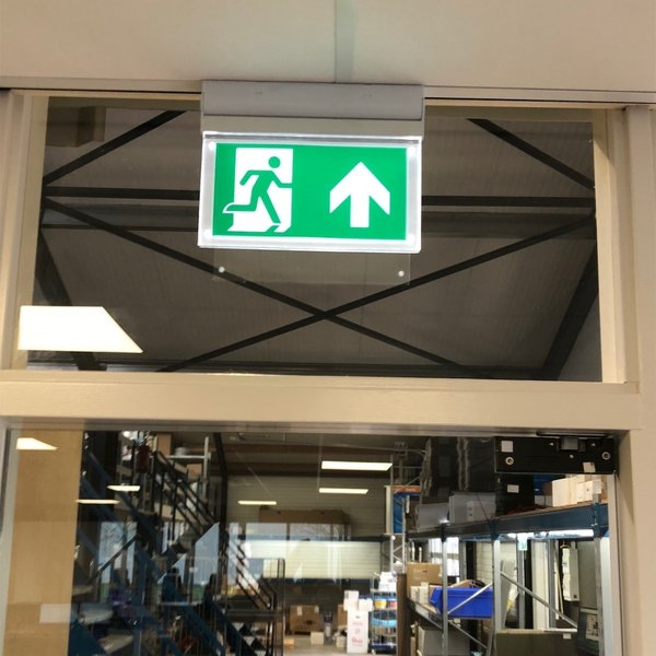 Kantelbare opbouw noodverlichting OTG-FF-6