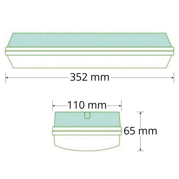 5,5W opbouw armatuur OTG-DD
