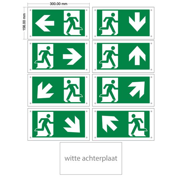 pictogrammen set voor de OTG-FF-6 of OTG-VV-5