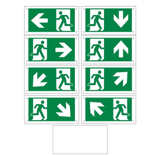 pictogrammen set voor de OTG-FF-6, OTG-VV-5 of OTG-HH-1