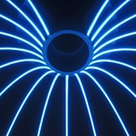 Neon LED strip – Blauw - LINA