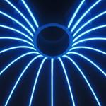 Neon lichtslang – Blauw - DINA