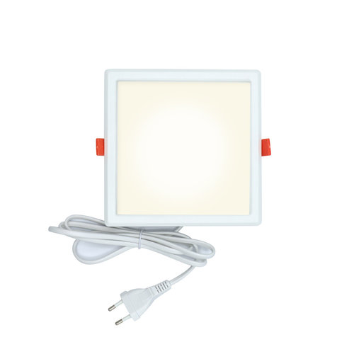 LED Downlight vierkant - 12 watt - 165 x 165mm