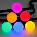 Complete prikkabel set met 6 kleuren LED lampen