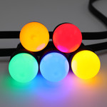 5 kleuren gemixte lampen