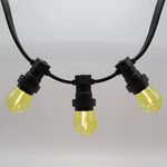 1 watt, filament, geel