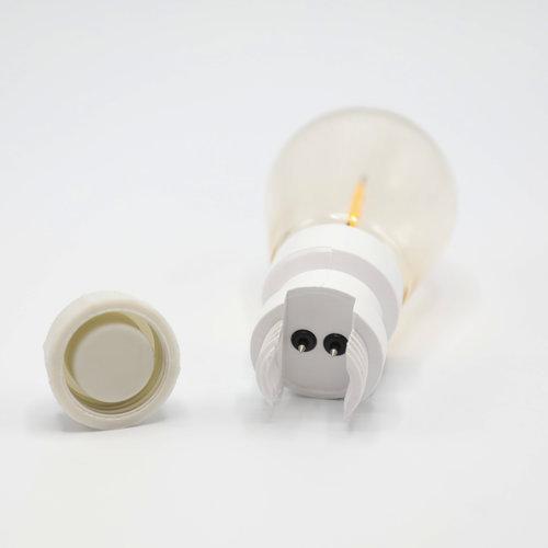 Priklamp - 2W filament, dimbaar (geen E27 fitting)