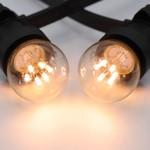 Warm witte LED lampen met LEDs op lange stokjes - 0,7 watt