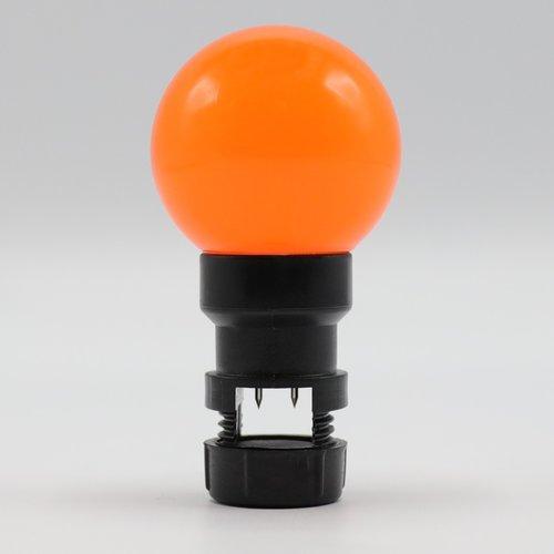 Priklamp - Oranje (geen E27 fitting)