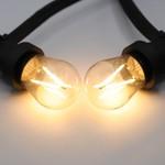 Warm witte filament lampen, 3 watt, 2650K, dimbaar (oude batch)