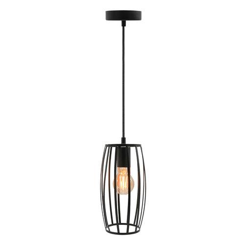 Hanglamp Maya incl. lamp 2,5W tot 10W, amber glas, 2000K, Ø60
