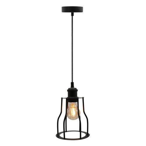 Hanglamp Diego incl. lamp 2,5W tot 10W, amber glas, 2000K, Ø60