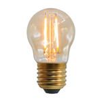 2,5W & 4,5W filament lamp, 2000K, amber glas Ø45 - dimbaar