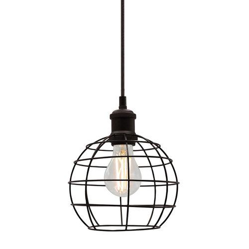 Hanglamp Hugo incl. lamp 4,5W tot 12W, helder glas, 2700K, Ø60 en Ø70