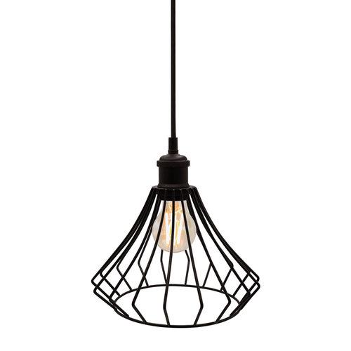 Hanglamp Kiki incl. lamp 2,5W tot 10W, amber glas, 2000K, Ø60