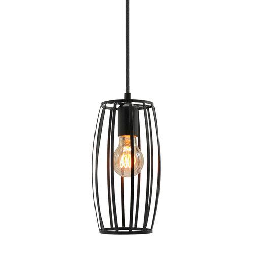 5W horizontale spiraal lamp, 1800K, amber glas Ø60 - dimbaar