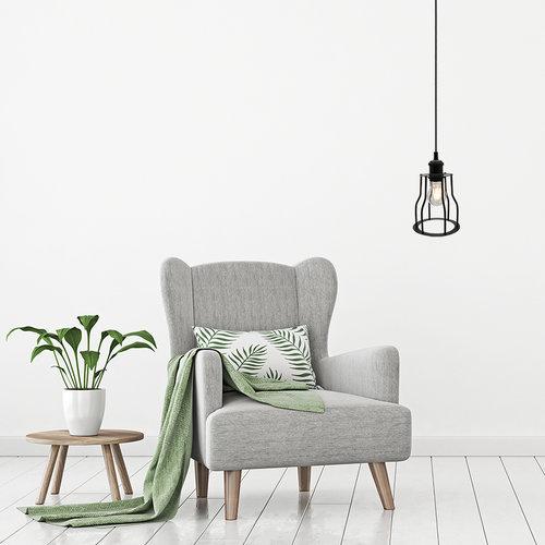 Hanglamp Diego incl. lamp 4,5W tot 12W, helder glas, 2700K, Ø60 en Ø70