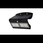 Solar wandlamp Double Conan 6.8W met sensor - zwart