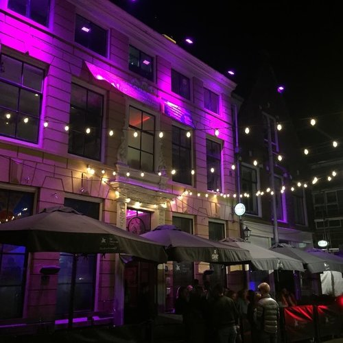 Lichtsnoer voor buiten van 25 meter met 50 melkwitte LED lampen