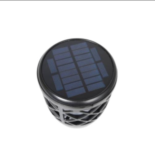 Solar tafellamp 2W met vlameffect