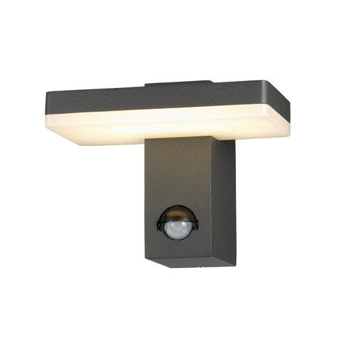 Wandlamp zwart met sensor - Roberto