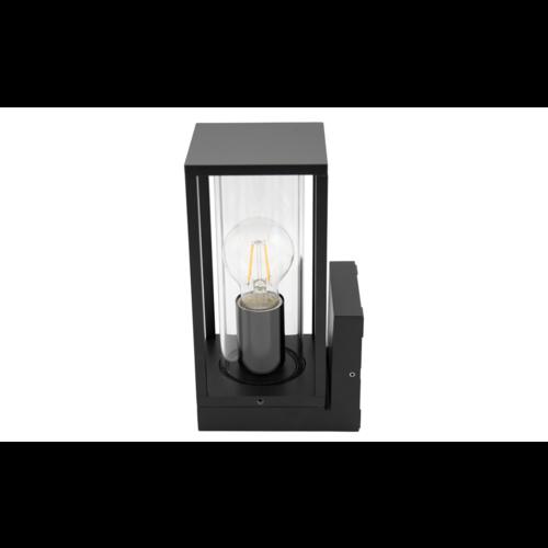 Industriële wandlamp Judy - zwart