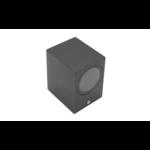 Moderne muurlamp Wolfie - zwart